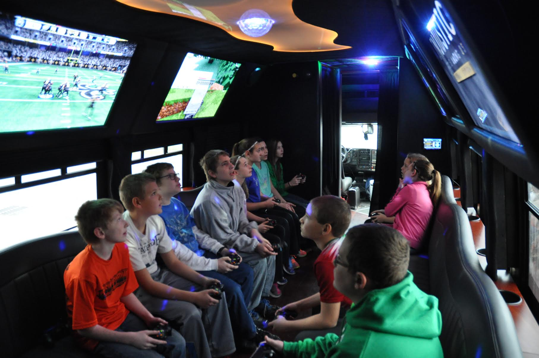 Video Game Truck Party Bus